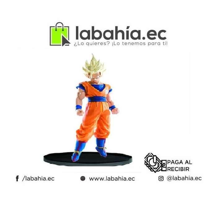 Muñeco de Goku Super saiyajin 2 Dragon Ball Z