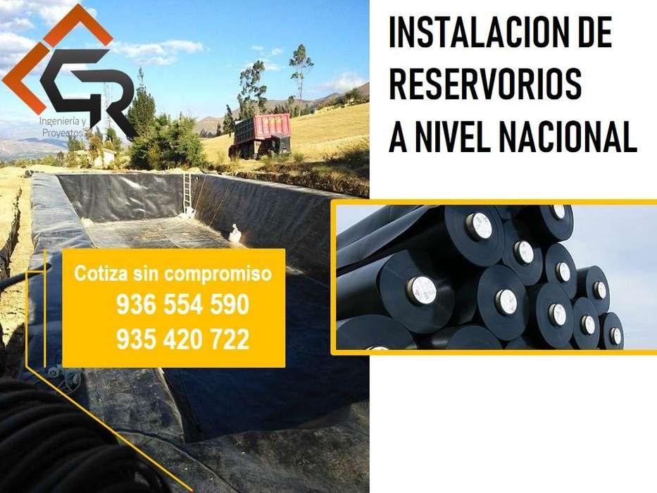 VENTA E INSTALACION DE GEOMEMBRANA HDPE Y PVC ( RESERVORIOS -RELLENOS SANITARIOS) A NIVEL NACIONAL CEL: 936554590