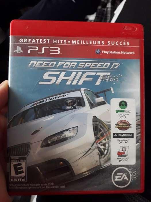 Need For Speed Shift. Ps3 Fisico. Vendo