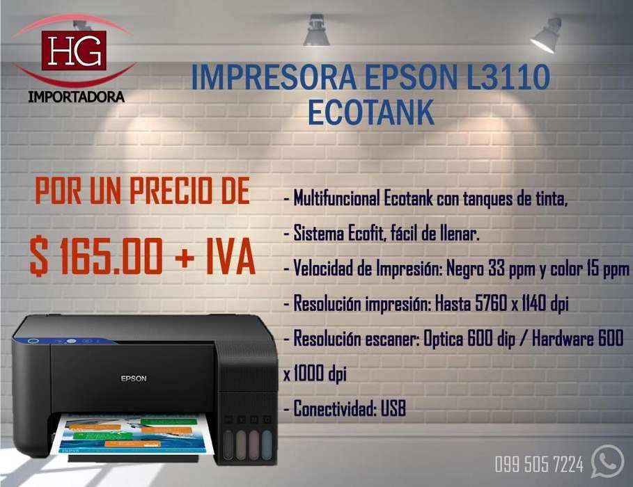 <strong>impresora</strong> Epson Multifunción L 3110