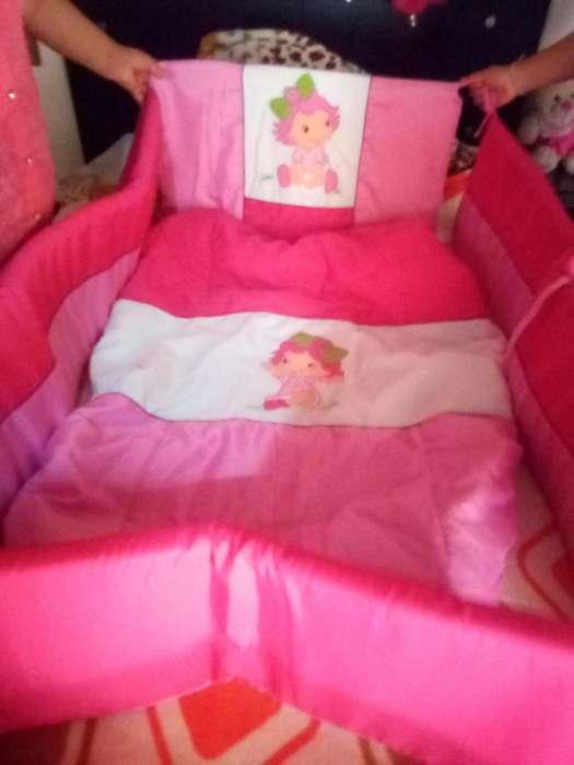 Protector cama cunas