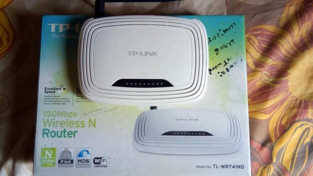 Vendo Router Wifi Tp Link