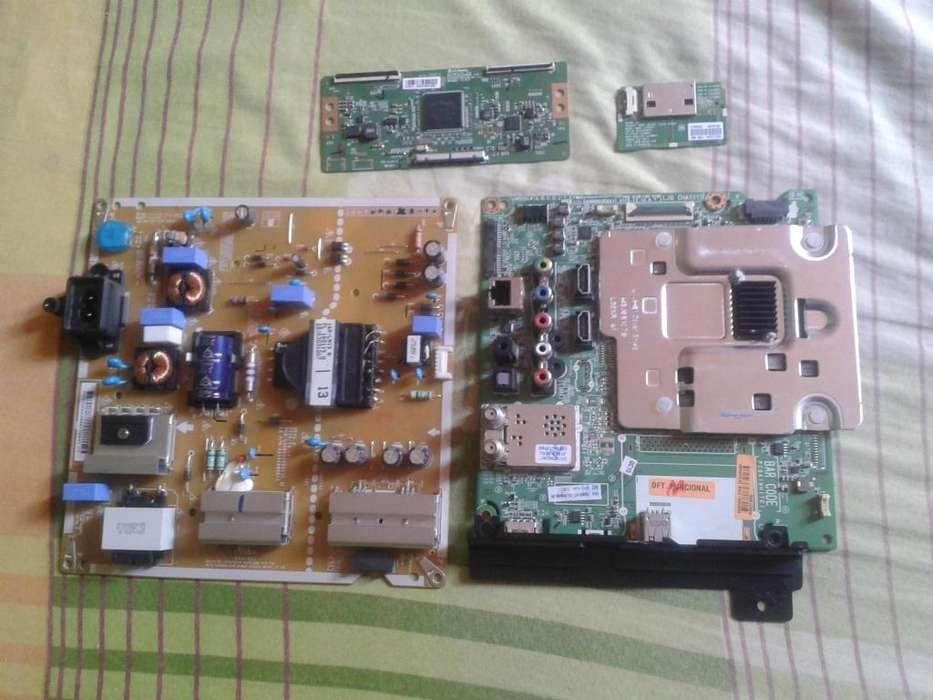 Vendo tarjetas del smartv LG Mod: 49UH610T