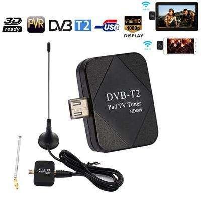 Mini Sintonizador De Tv Tdt Dvb T2 Para Celular Y Tablet