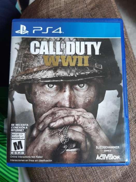 Call Of Duty Ww2 para Ps4 Como Nuevo