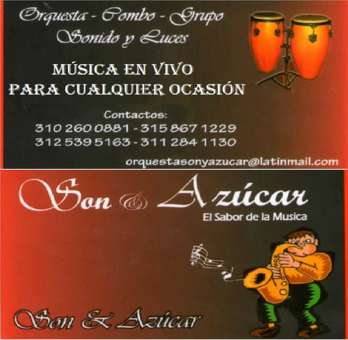 Grupo Musical Sogamoso ORQUESTA SON Y AZUCAR
