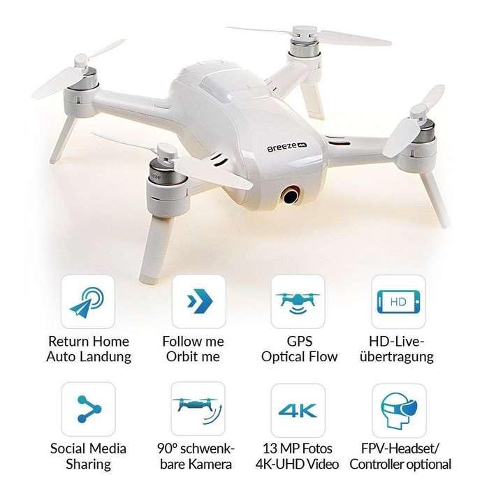 Drone breeze 4k 2 baterías nuevo en caja el mejor del mercado al mejor precio