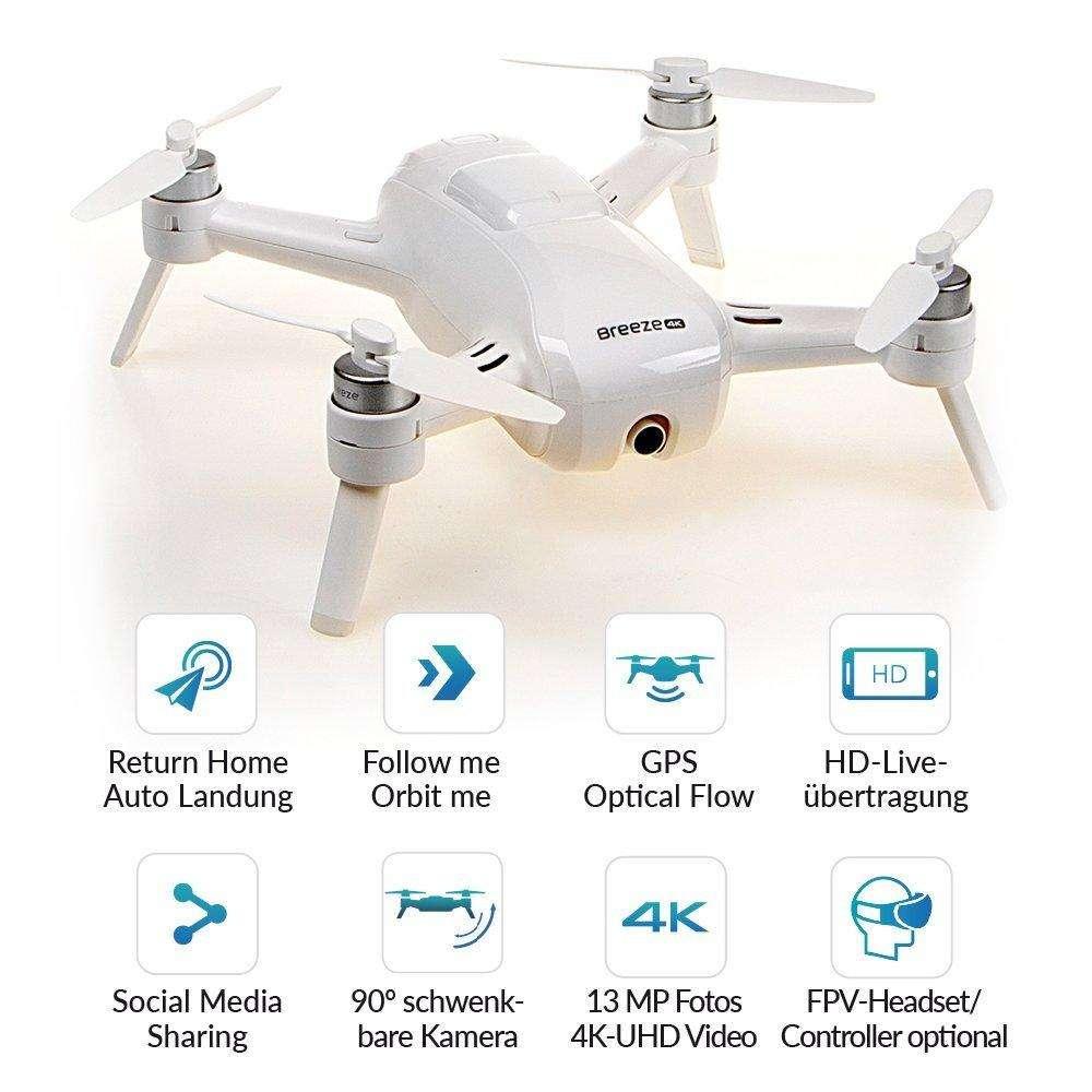 49fe9709953 Drone breeze 4k 2 baterías nuevo en caja el mejor del mercado al mejor  precio