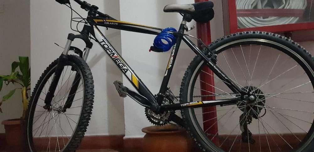 Vendo Bicicleta Topmega Cratos