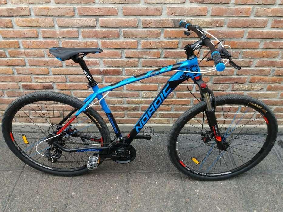 Vendo Bicicleta Nordic 7.0 R29 Nueva