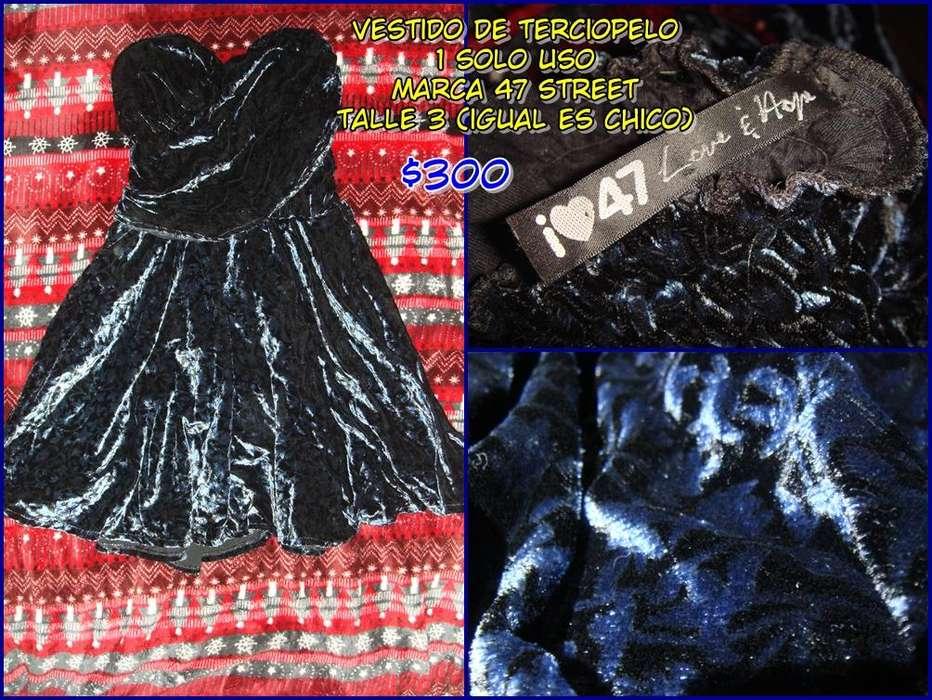 Vestido de Fiesta Terciopelo 47 Street