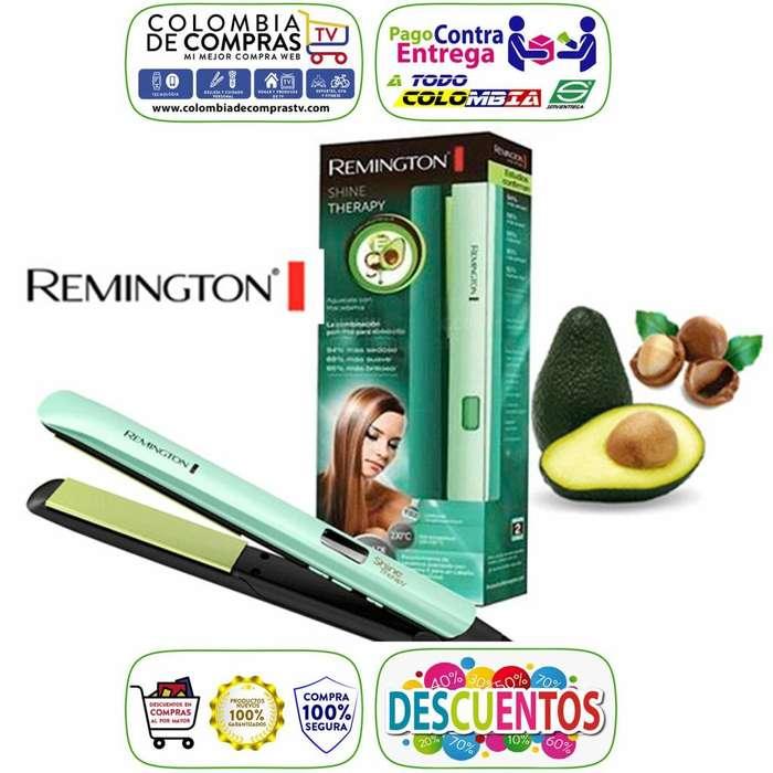 Plancha Cabello Remington Macadamia y Aguacate Digital 450F, Alisa y Ondula, Nuevas, Garantizadas