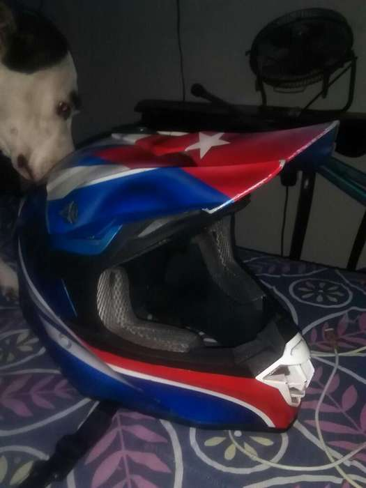 Casco Shaft Tipo Motocross