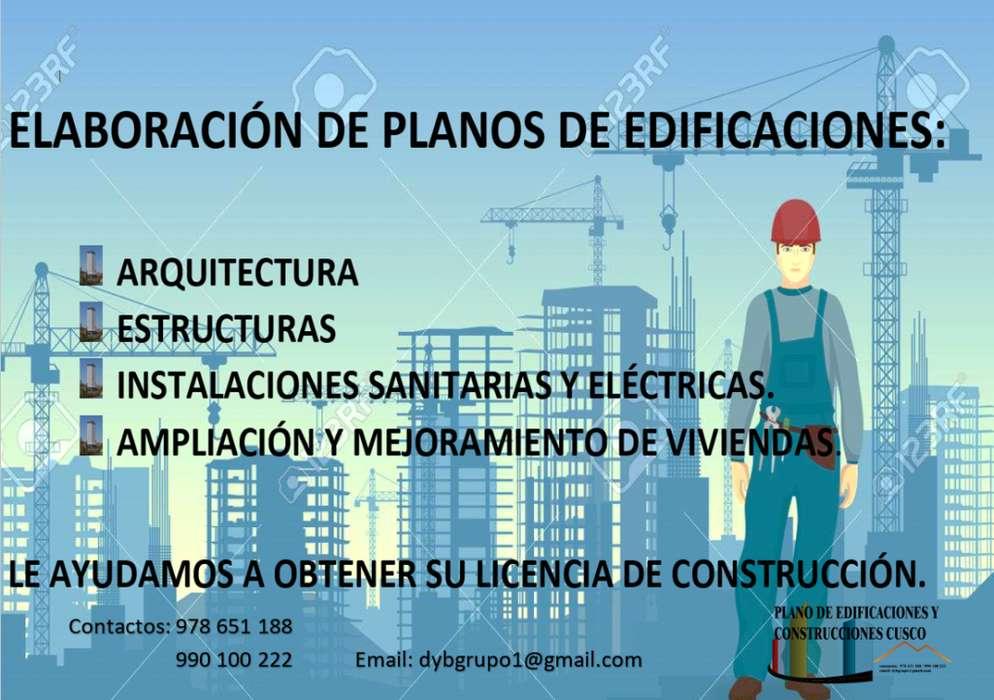 PLANO DE EDIFICACIONES Y CONSTRUCCIONES CUSCO
