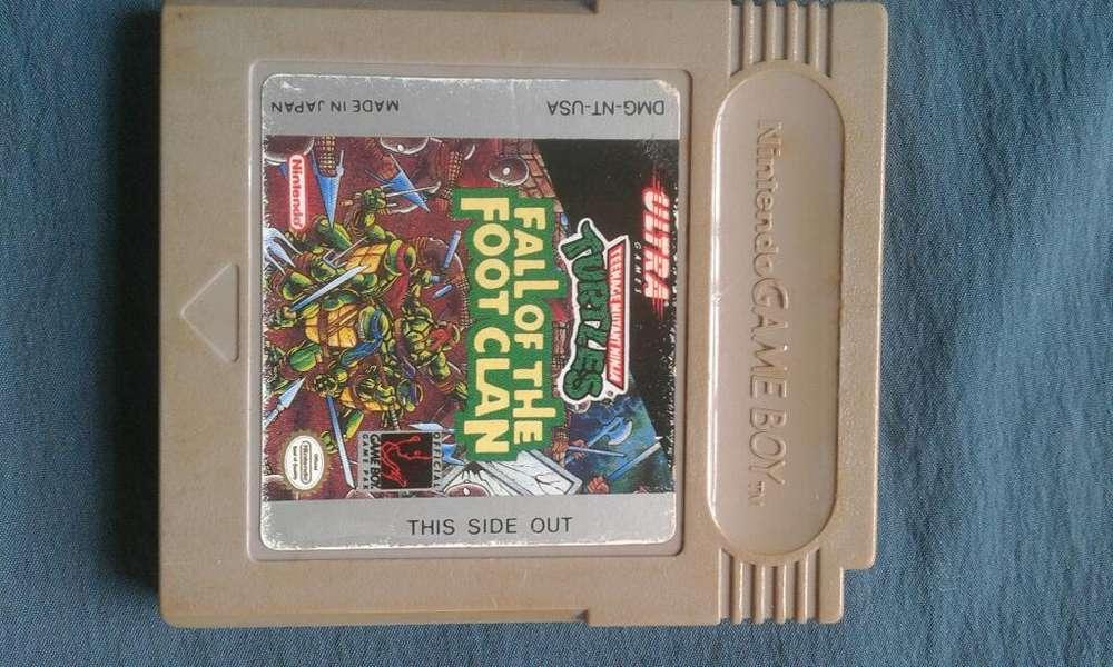 Juego Game Boy - Tortugas Ninja