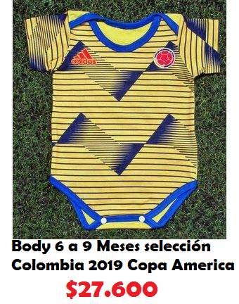 Body 6 a 9 Meses selección Colombia 2019 Copa America
