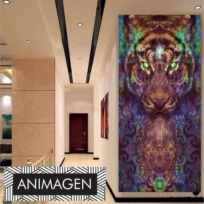 Cuadro decorativo de tigre 4198