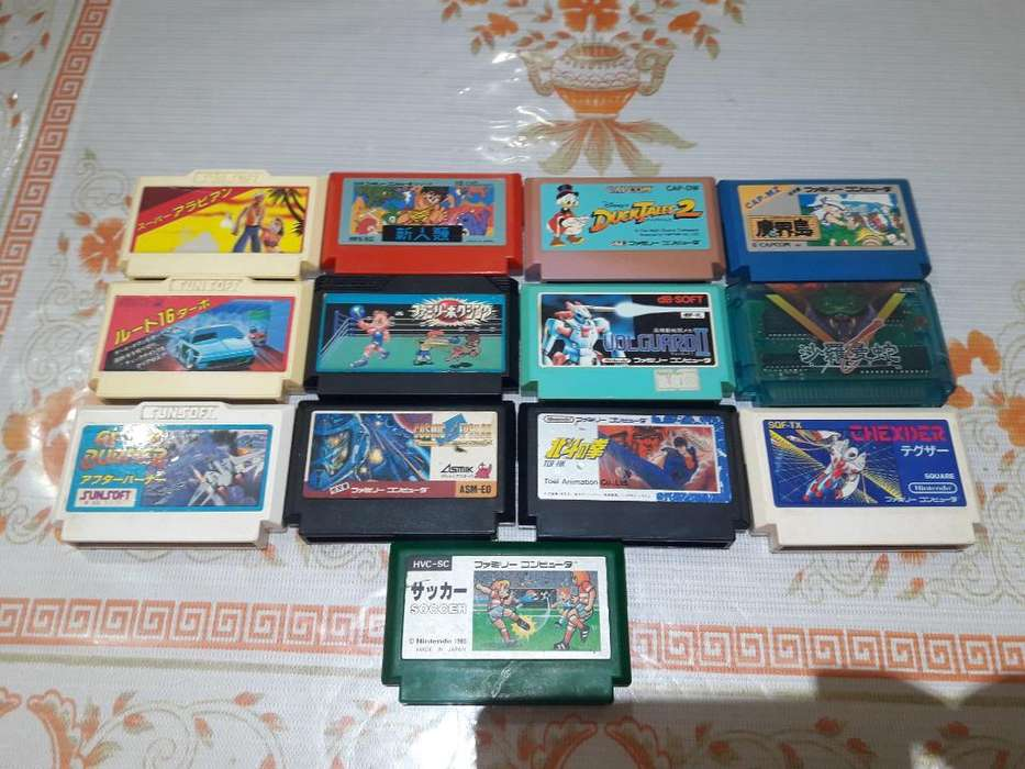 Juegos Famicom Lote 3