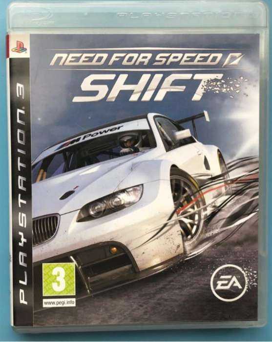 vendo usado Need For Speed Shift para play 3. juegos. recibo tarjetas. garantía. local céntrico. físico. ps3