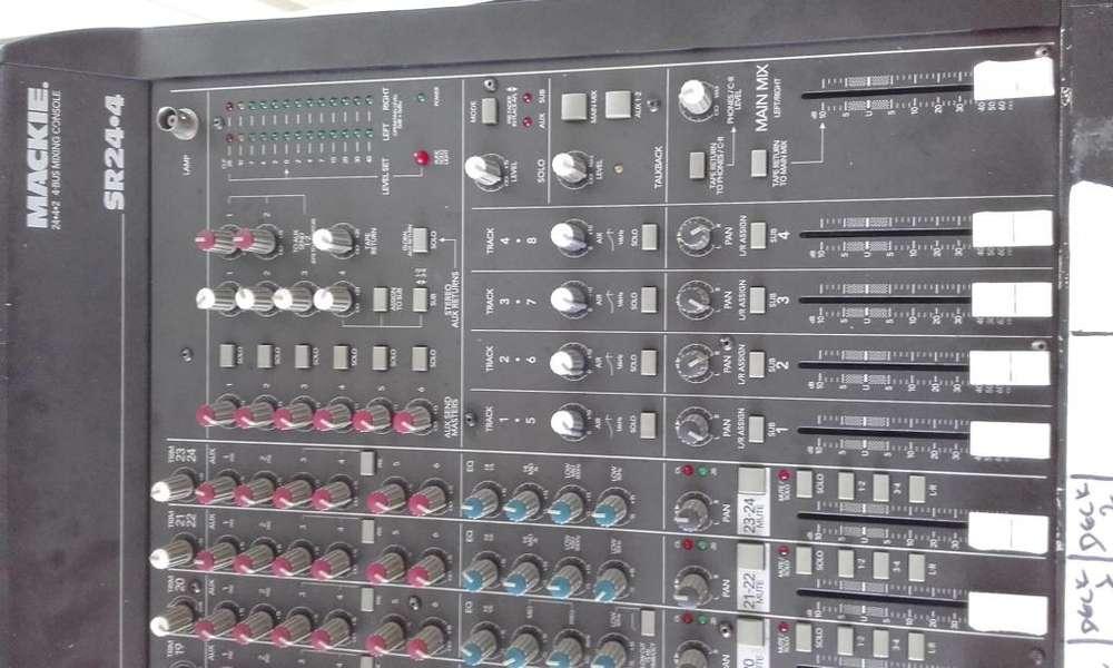 consola mixer de sonido mackie 24 canales