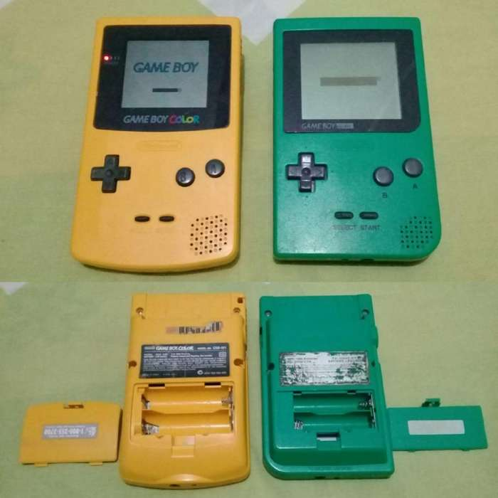 Consolas Gameboy Color Pocket Accesorios Manuales Revistas Club Nintendo Estuches Game Boy Gba Mvs Kof