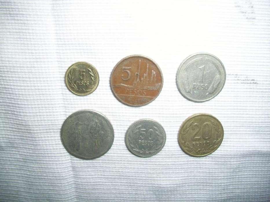 monedas de coleccion colombianas