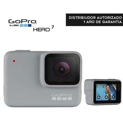 Cámara Gopro Hero7 White Cámara Acción Táctil Vídeo 1440p 10mp Agua