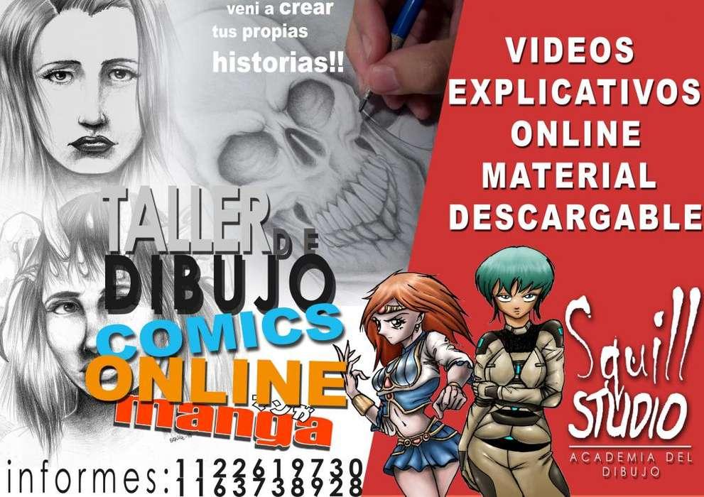 CURSO ONLINE DE DIBUJO Y COMICS