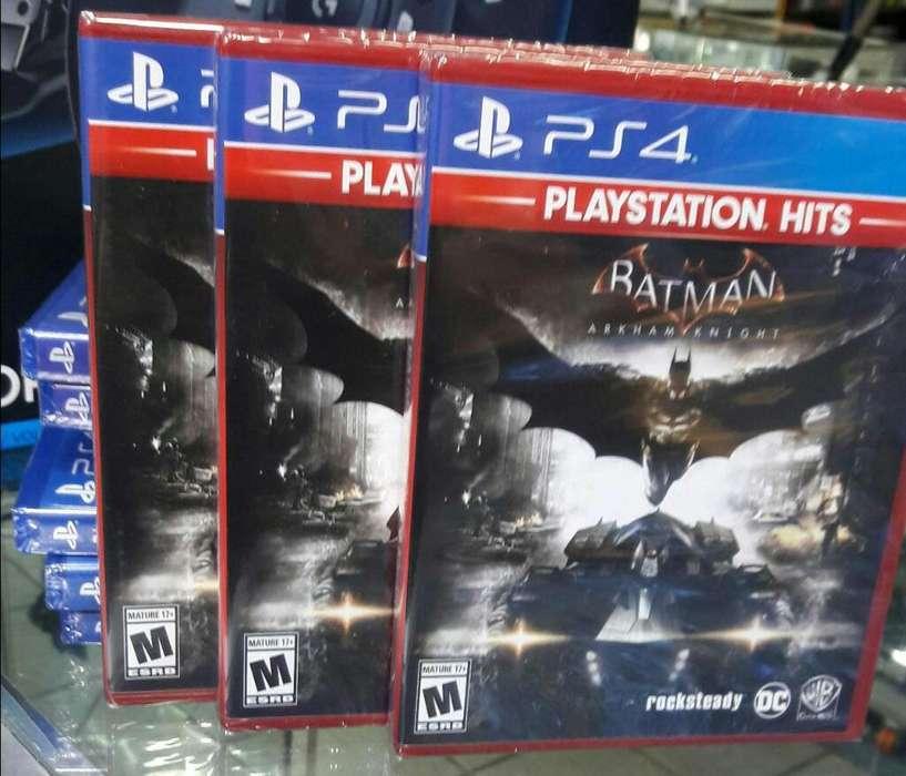 Batman Arkham Knight Ps4 Nuevo Sellado Stock