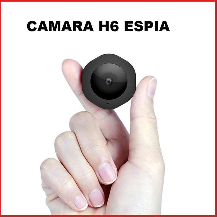 CAMARA ESPIA MOD. H6 VIDEOS A COLOR CON AUDIO FOTOS VISION NOCTURNA
