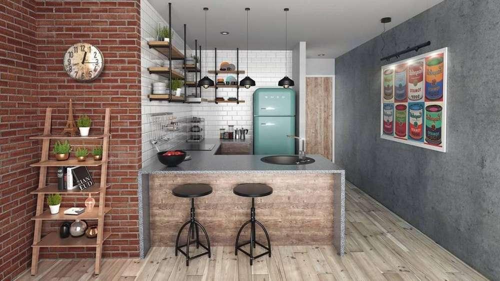 Departamento 37m2 en Barranco - Proyecto Roomie