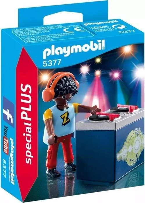 Playmobil Special Plus - Dj Disc Jockey - 5377
