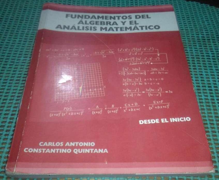 Libro Fundamentos de Algebra