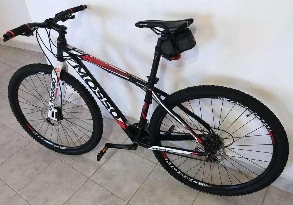 Vendo Bicicleta Mosso 24 Vel Hidraulico