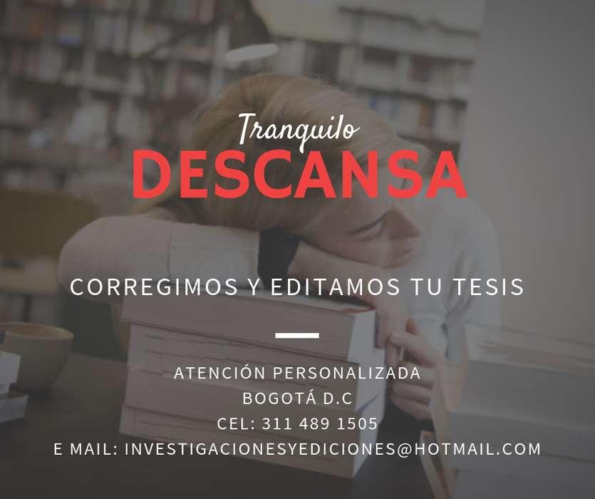 Edición de textos - Tesis - Normas APA