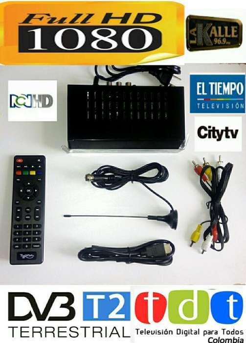 Decodificador Tdt Compatible con Todo Tv