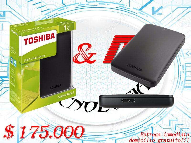 Discos duros Toshiba 1TB Nuevos