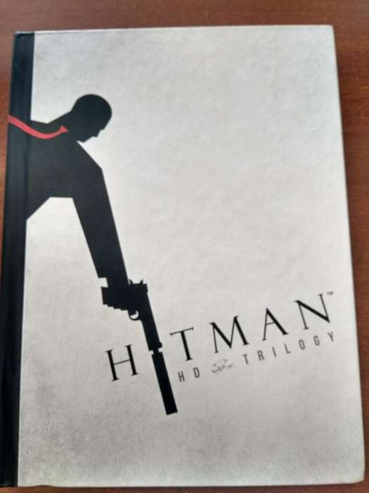 Libro de arte Hitman HD Trilogy PS3 Xbox 360