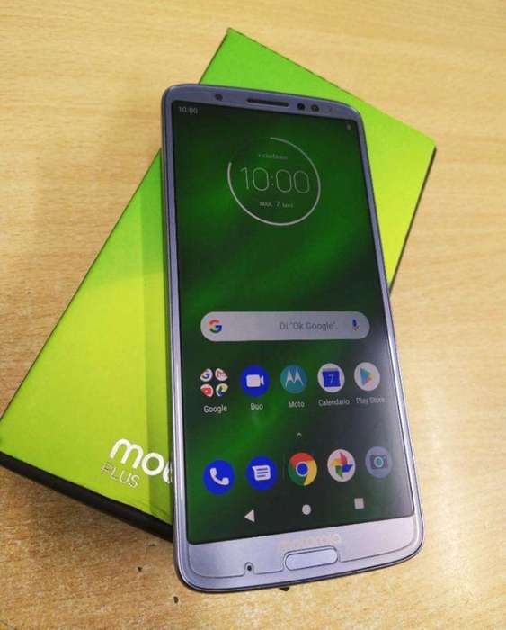 Vendo-permuto Moto G6 Plus 4/64gb