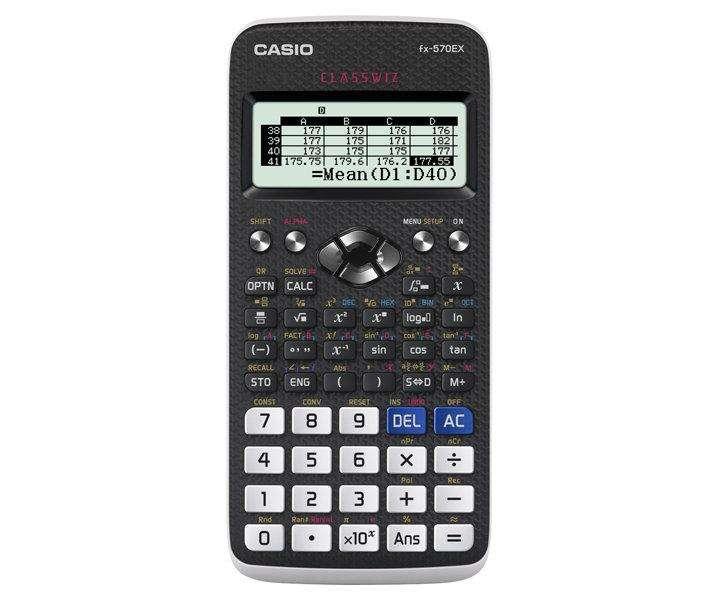 <strong>calculadora</strong> Classwiz Fx570ex