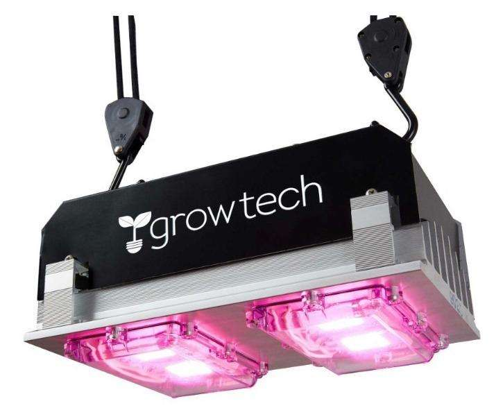 Panel Led Growtech Full Spectrum 200w Para Cultivo Indoor