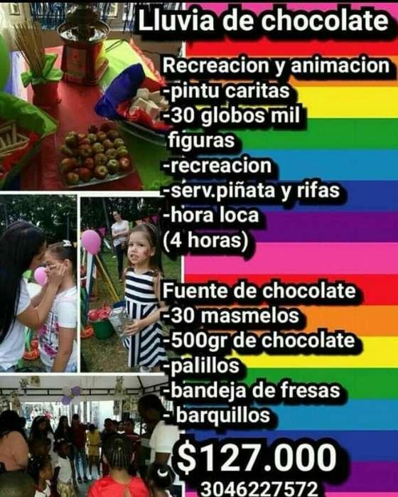 Recreacion Y Animacion Fuente D Chocolat