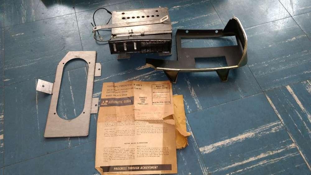 Radio Original Clásico Plymouth Fury