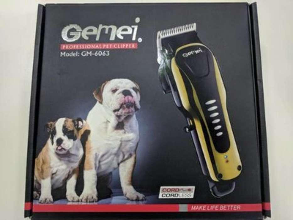 Máquina Peluquera para Mascotas Gemei Gm