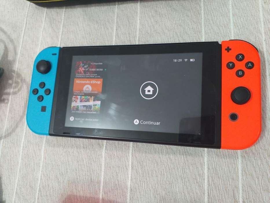 Nintendo Swicht Neon