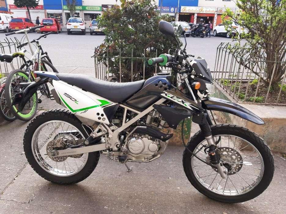 Moto Klx 150 <strong>kawasaki</strong> Enduro Muy Buena