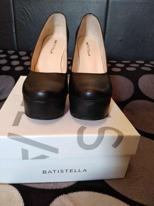 Zapatos Batistela N 39 Horma Chica