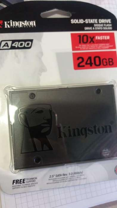 Ssd Kingston 240 Gb Solido