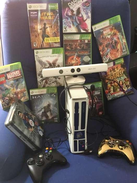 Xbox 360 Kinect Edicion Star Wars Juegos