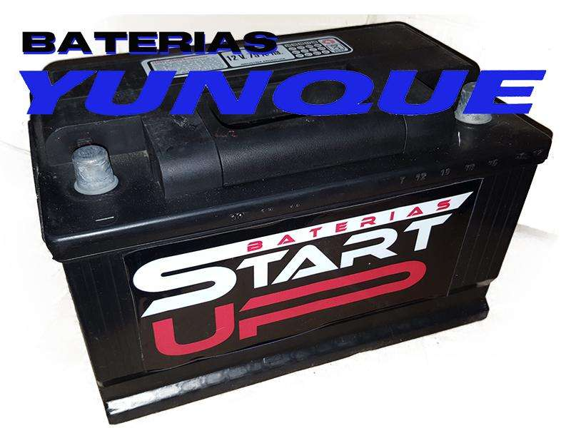 <strong>bateria</strong> 12x75 START UP